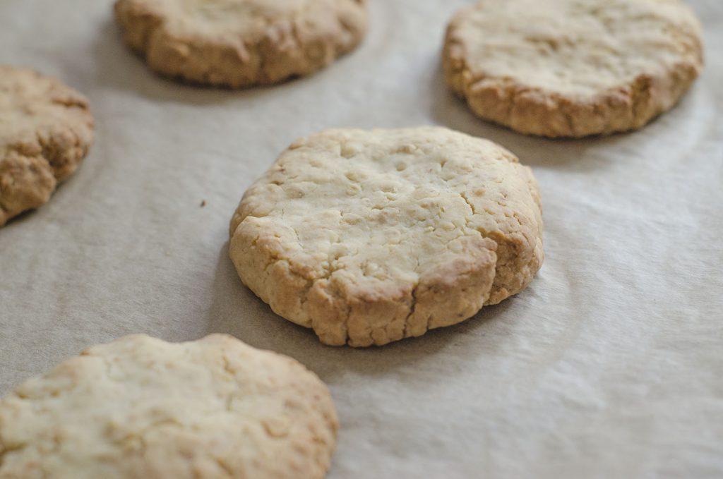 warm oat cookies
